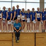 norddeutscher Meister U16 2013 der Schweriner SC