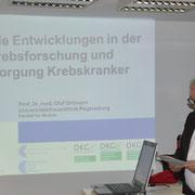 Begrüßung durch 1. Vors. Josef Schönhammer