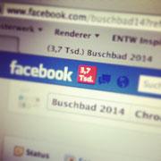 Der Start bei Facebook ...einfach unglaublich!
