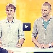 Timo und Robin beim Rhein-Neckar Fernsehen