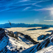 Pilatus Kulm in Richtung Obergums VS (Switzerland south) 2013. LOW DYNAMIC RANGE ScooPhotography ©