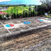 Nueva Vizcaya - basketball field in LOW DYNAMIC RANGE ScooPhotography ©