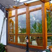 wintergarten holz alu plus. Black Bedroom Furniture Sets. Home Design Ideas