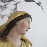 statue de la Vierge, 1 mètre