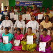 After completing the skill training, the trainees get a certificate.