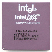 Intel A80486 DX4-100 &E SK051