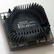Intel Pentium OverDrive 83 MHz SU014 Side w/ Fan Removed