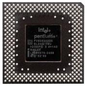 P54CS Intel Pentium 200 MHz SL24Q FV80502200