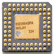 Intel MG80C186-10/B Military 80186 CPU