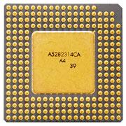 Intel Pentium OverDrive 83 MHz SU014 Back Picture