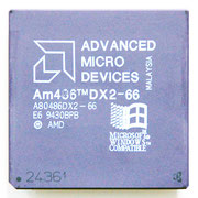 A80486DX2-66 AMD Am486 DX2 66 MHz