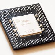 P54CS Intel Pentium 166 MHz SY037  FV80502166