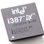 Intel A80387DX 16-33