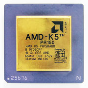 AMD K5 PR150 front view (Photoshoped by a little bit)