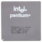 BP80502-75 SZ994 Intel Pentium 75 MHz P54C