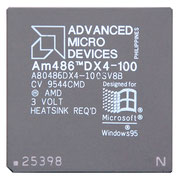 AMD Enhanced Am486 DX4-100 A80486DX4-100SV8B