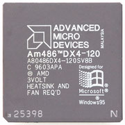 A80486DX4-120SV8B AMD Am486 DX4-120