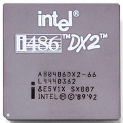 Intel A80486 DX2-66 SX807