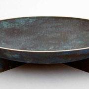 leif månsson fat i gjuten och patinerad brons