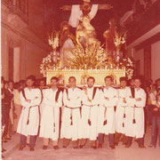 """Los """"Arteagas"""" en 1984. Foto cedida por José Vicente Amores."""