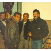 De izquierda a derecha, Francisco Cuadra, Santiago Ortiz, Daniel Bustamante y Juan José Leal.