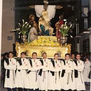 Paso de la Piedad en 1995. (Foto cedida por José Alberto Sánchez)