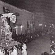 Piedad año 1957 por la calle de La Virgen.