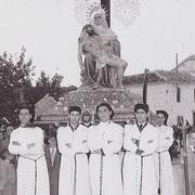 Año 1957 la Piedad por el Pozo-Hondo.