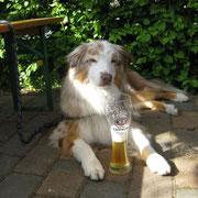 beim wohlverdientem Bier :-))))))
