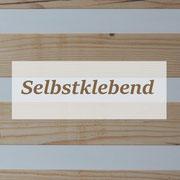 Wandverkleidung Altholz Brown - mit Klebstreifen zur einfachen Montage