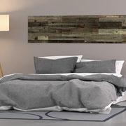 Wandverkleidung Altholz Grey, selbstklebend