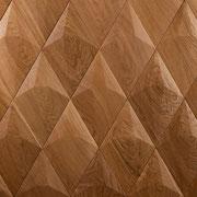 Wandverkleidung - Wand-Design Exklusiv, Diamant, Farbton Natur