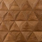 Wandverkleidung - Wand-Design Exklusiv, Pyramide, Farbton Natur