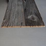 Wandverkleidung Altholz Grey, selbstklebend, Seitenansicht