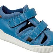 Stabilschuh zur Therapie bei Paresen oder Ruhigstellung schmerzhafter Fußgelenke, royalblau