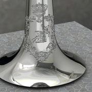 Imagen virtual escudo en la corneta