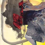 """gemischte gefühle #65120918, oil on canvas, (c) Maja Rohwetter VG BildKunst"