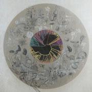 Tree of Life, Mixed Media on Wood, 170cm x 130cm, 2017