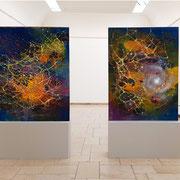 Filamente und Voids..., Installation View at UdK Berlin