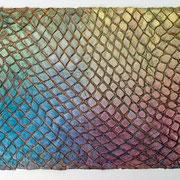 """""""Reptile"""" 2015, ca. 118 x 182 cm"""