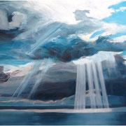 Sky III, 200cm x 260cm, oil on canvas, 2013