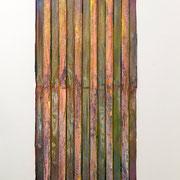 """Gap"" 2015, ca. 255 x 105 x 3 cm"