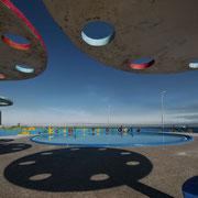 """""""Parque néne traviesa"""", 2020, Serie La Marea (Gezeiten), Lichtjet Print, Plexiglas matt, gerahmt mit Schattenfuge, 85 x 112 cm"""