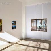 Serie La Marea, Kuba. Installation View at Axel Obiger Berlin, 2020