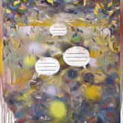 """Blasen"", Öl/Lwd, 180 x 150 cm, 2017"