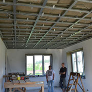 Надежный каркас для ГКЛ потолка