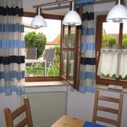 Wohnküche Blick Terrasse