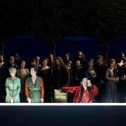 Konzertvereinigung Wiener Staatsopernchor 2011 Salzburger Festspiele MACBETH Foto: Lelli