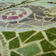 Mosaikfliese Schmetterling