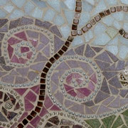 Mosaikfliese Schmetterlimg